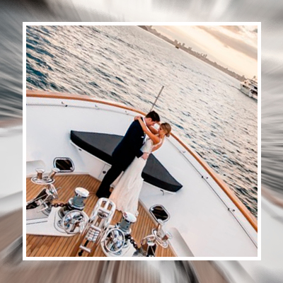 Wedding on luxury yachts